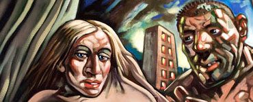 Peter Howson - Madonna and Ogre