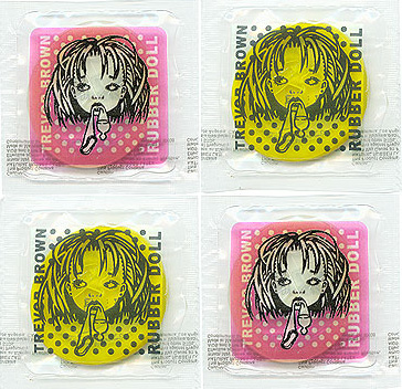 Trevor Brown 'Rubber Doll' condoms